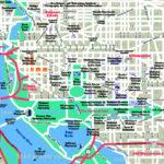 Map Of Downtown Washington Dc Printable Printable Maps
