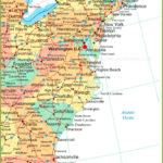 Map Of Eastern United States Printable Interstates