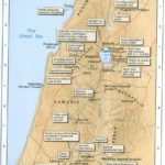 Map Of Jesus Ministry Bible Mapping Bible Study Topics