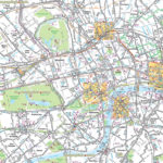 Map Of London With Tourist Attractions Download Printable