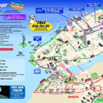 Map Of New York City Attractions Printable Tourist