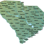 Map Of South Carolina Map Cities And Towns Worldofmaps