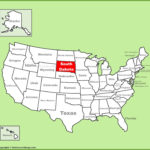 Map Of South Dakota And Other Free Printable Maps
