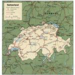 Map Of Switzerland Political Map Worldofmaps