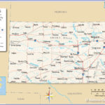 Map Of The State Of Kansas USA Nations Online Project
