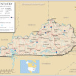 Map Of The State Of Kentucky USA Nations Online Project