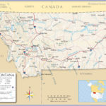 Map Of The State Of Montana USA Nations Online Project