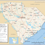 Map Of The State Of South Carolina USA Nations Online