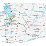 Map Of Washington Cities And Roads GIS Geography