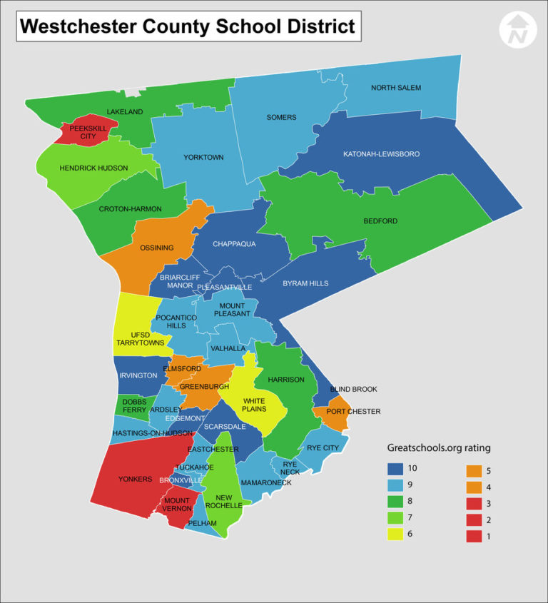 Map Of Westchester County CVLN RP