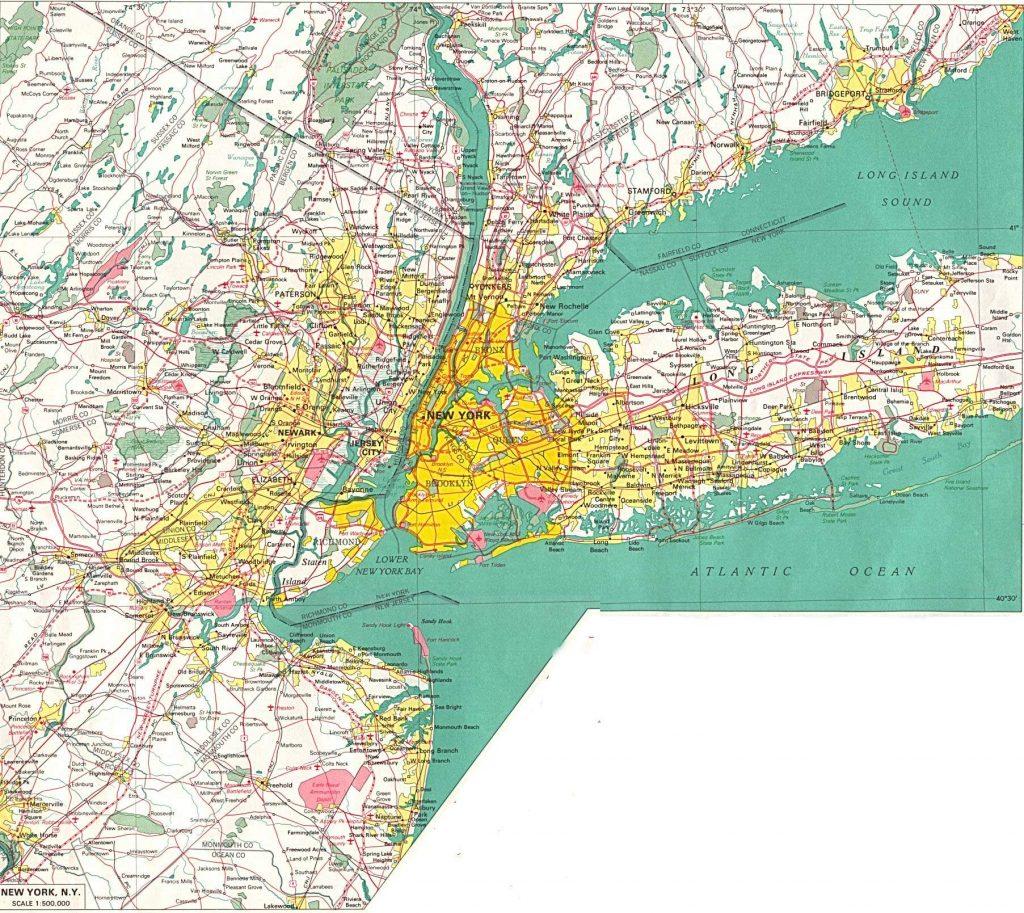 Mapa De Nueva York TurismoEEUU Distritos Poblaci n