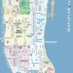 Maps Of New York Top Tourist Attractions Free Printable