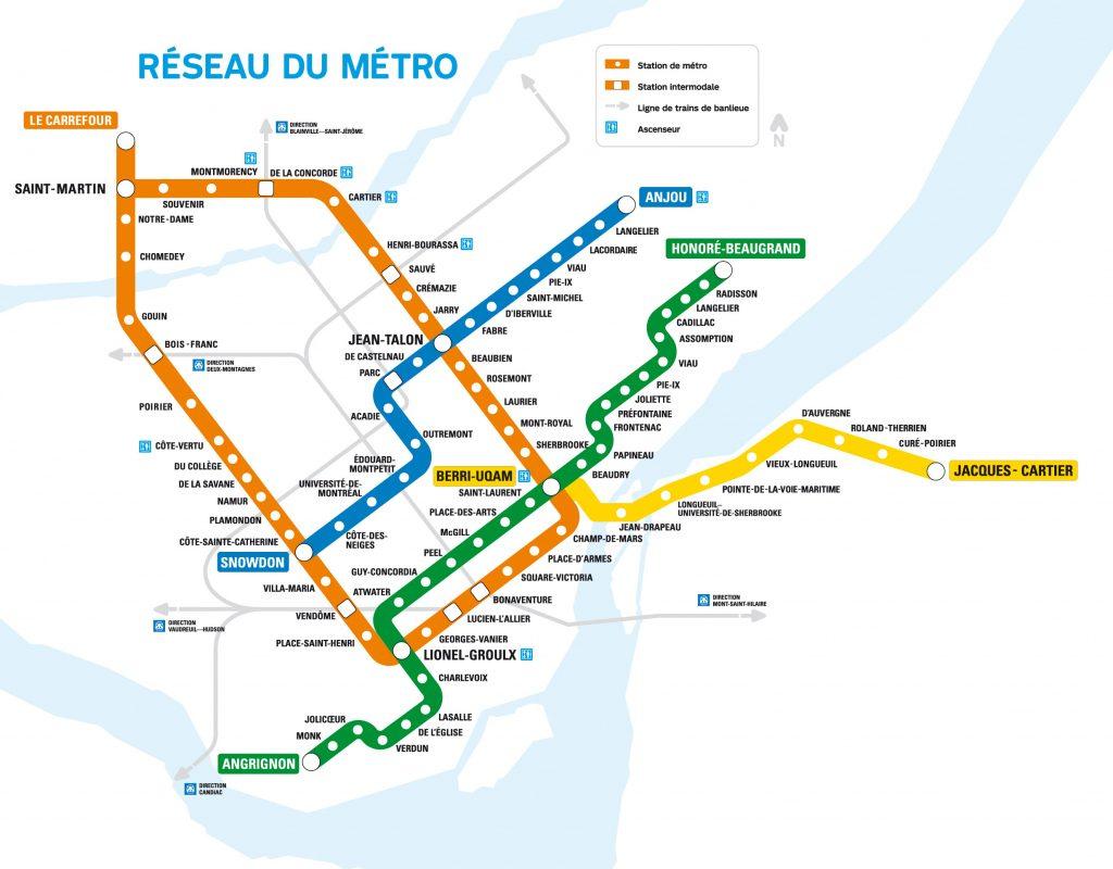 Maps Sayfa 35 Mapofmap1 Montreal Metro Map Printable
