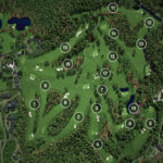 Masters Augusta National Course Map And Layout With