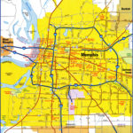 Memphis TN City Map Free Printable Detailed Map Of Memphis