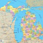 Michigan County Maps Printable Free Printable Maps