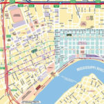 New Orleans Tourist Map Maplets