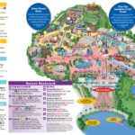 New Park Maps Released Today Include My Disney Experience