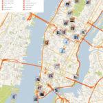 New York City Manhattan Printable Tourist Map Sygic Travel
