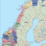 Norway Political Map Illustrator Vector Eps Maps Order