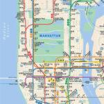 NYC Subway Map New York Subway Nyc Subway Map Map Of