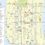 NYC Tourist Map Printable Tourist Map Of New York