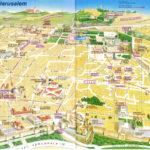 Old City Jerusalem Map Cidade De Israel Cidade Mapas