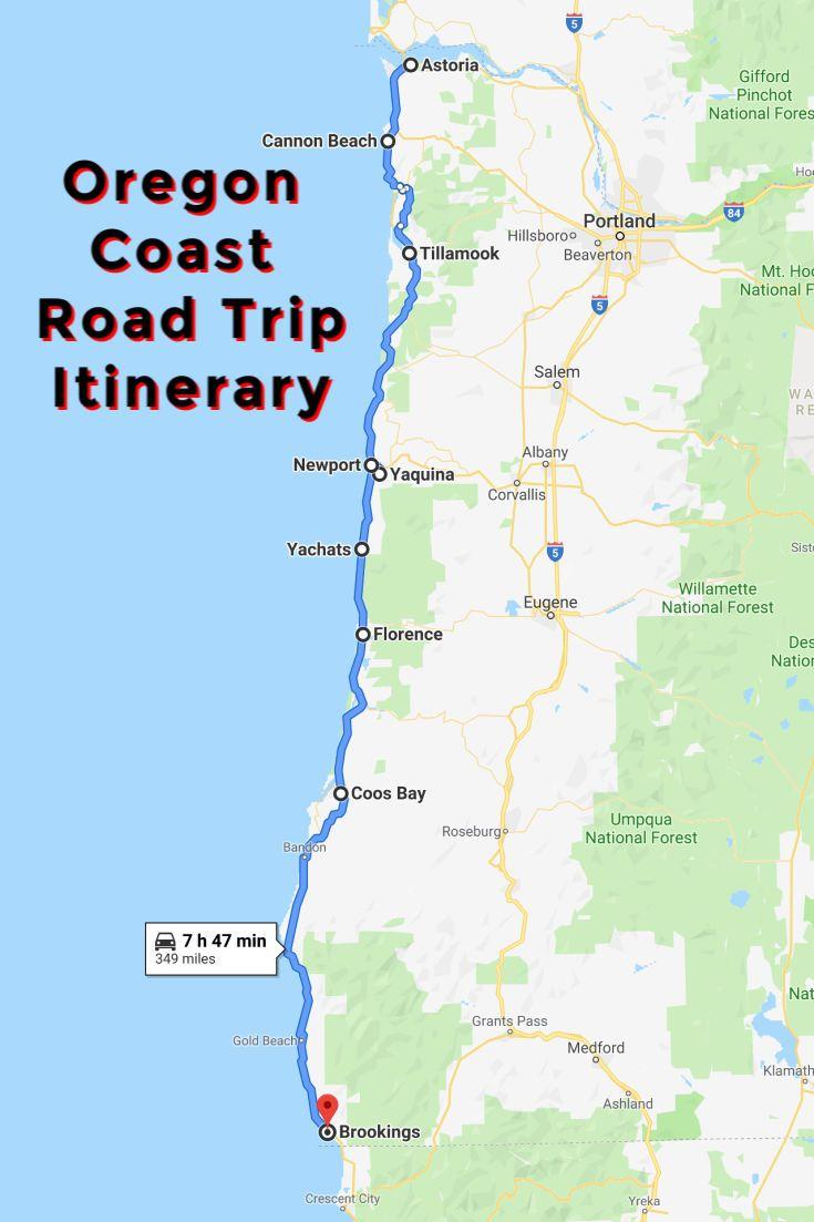 Oregon Coast Road Trip A Driving Itinerary Highlighting
