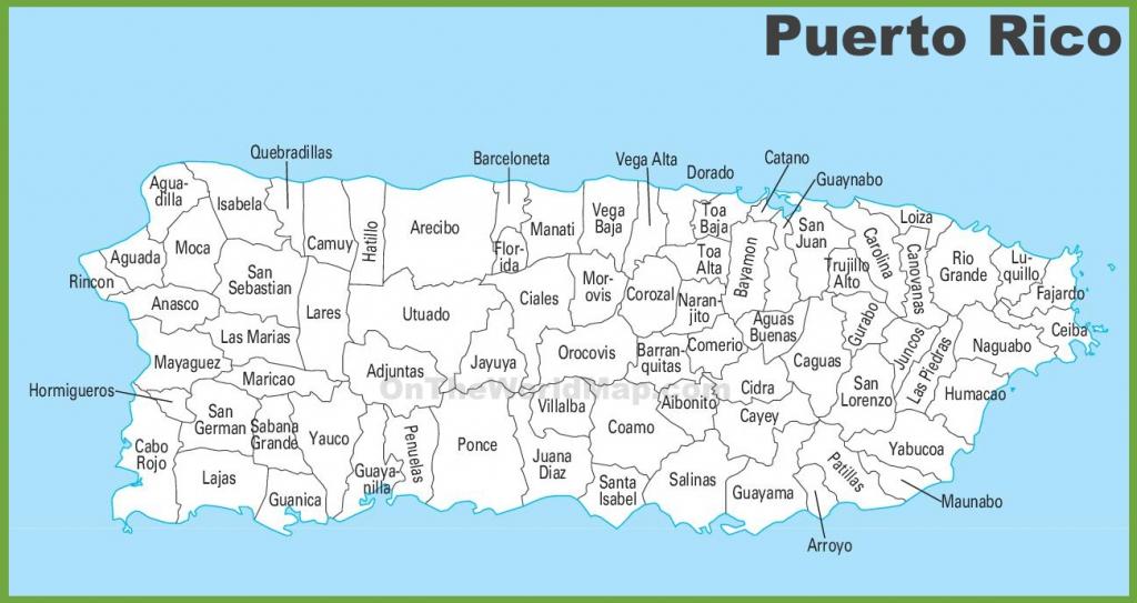 Outline Map Of Puerto Rico Printable Mr Sim s Blog