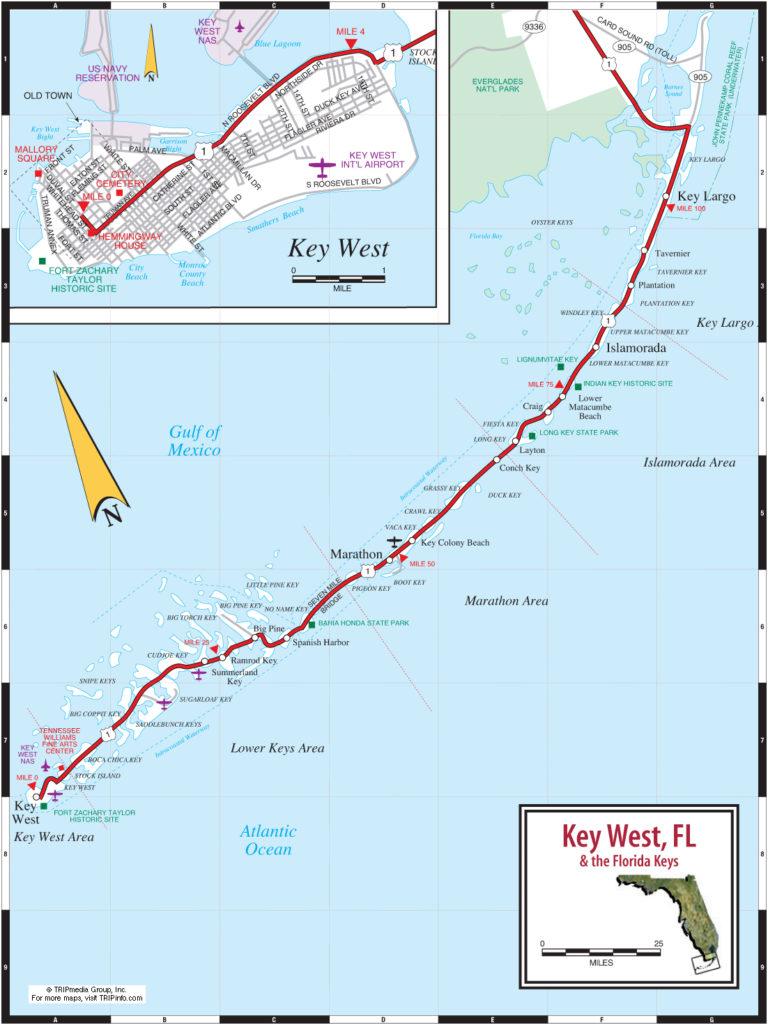 Photo Home Site Florida Keys Map