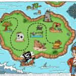 Pirate Treasure Map Printable Printable Maps