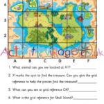 Practice Grid References With This Fun Treasure Map