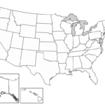 Printable Blank Map Of The United States Quiz Printable