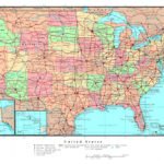 Printable Detailed Map Of The United States Printable US