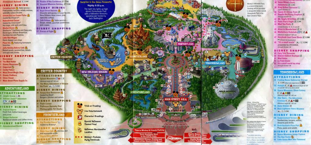 Printable Disneyland Map 2015 Printable Maps