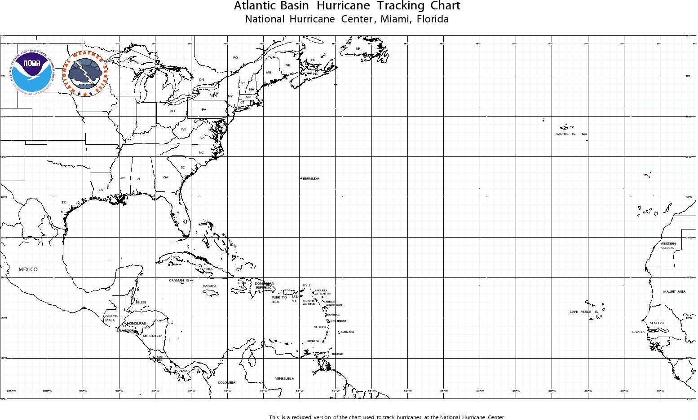 Printable Hurricane Tracking Map Printable Maps