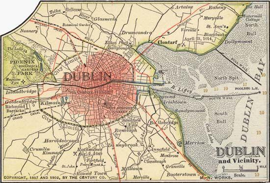 Printable Map Of Dublin Google Search Dublin Map Map