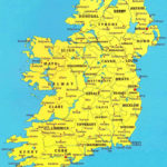Printable Map Of Ireland Counties And Towns Printable Maps