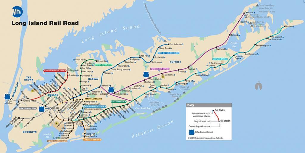 Printable Map Of Long Island Ny Printable Maps