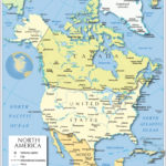 Printable Map Of North America With Labels Printable Maps