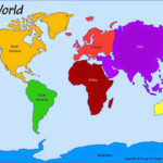 Printable Map Of The 7 Continents Free Printable Maps