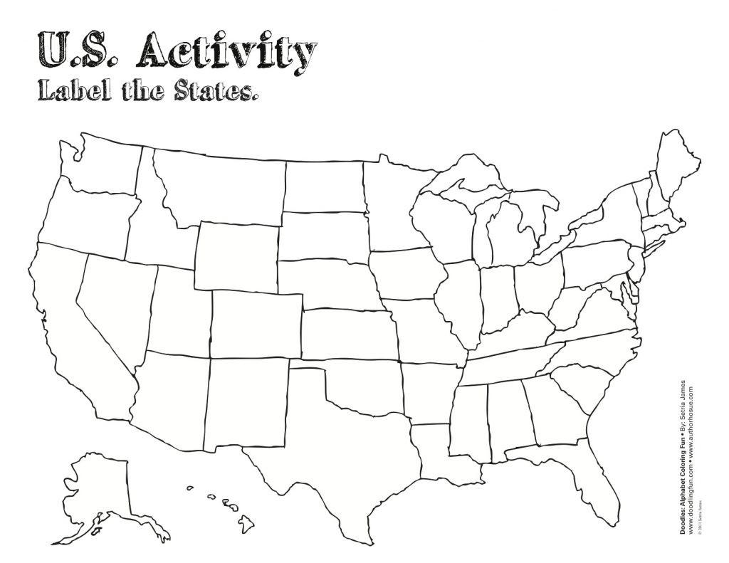 Printable Map Of The United States Pdf Printable US Maps