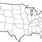 Printable Map Of United States Blank Printable US Maps