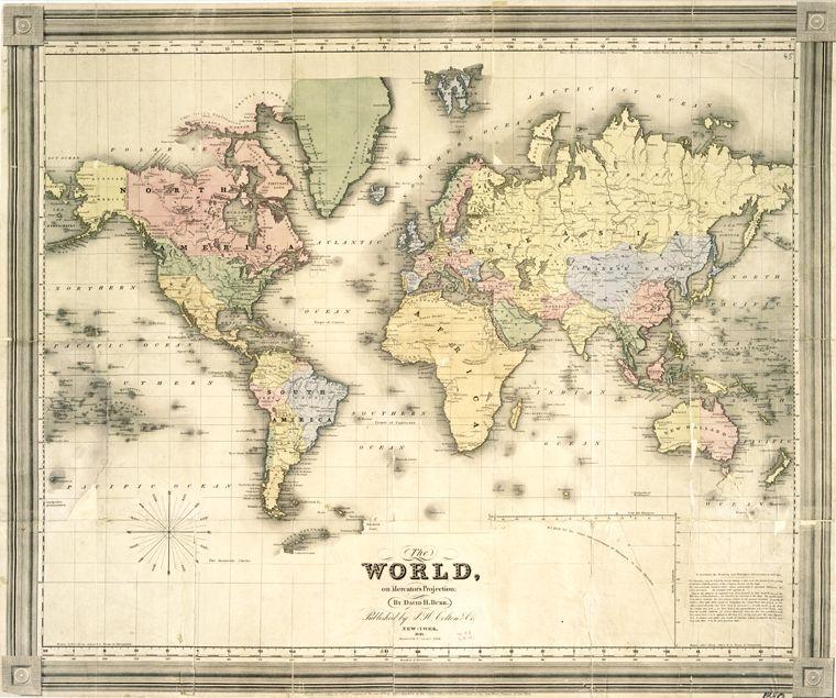 Printable Map Vintage Maps Vintage Printables Vintage Map