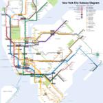 Printable New York Subway Map Afp Cv Pertaining To
