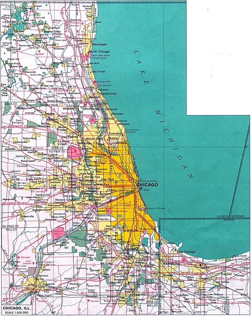 Printable Street Map Of Downtown Chicago Printable Maps