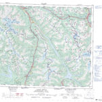 Printable Topographic Map Of Canoe River 083D AB