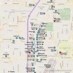 Printable Vegas Strip Map Printable Maps