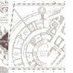 Printable White Marauders Map PDF Marauders Map