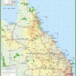 Queensland Road Maps Printable Printable Maps